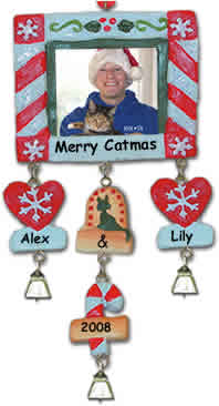 Personalized Picture Frame Ornament