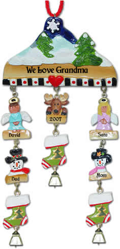 Christmas Ornaments for Grandparents