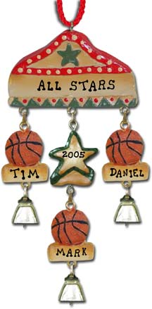 Sport Christmas Ornament