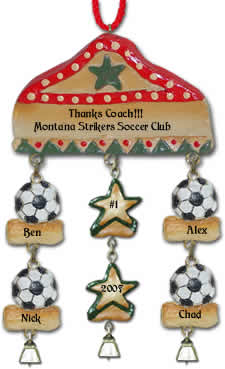 Sports Christmas Ornament