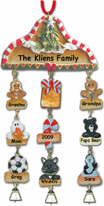 Click to start building your personalized Christmas ornament