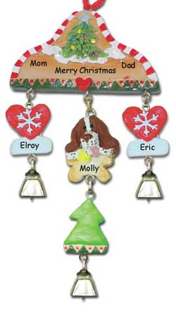 Personalized Springer Spaniel Dog Christmas Ornament