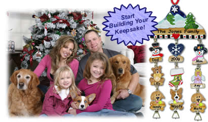 Build Your Personalized Keepsake Ornament / Wall Hanging