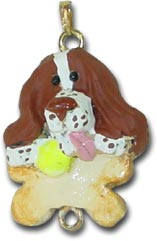 English Springer Spaniel ornament charm