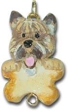 Cairn Terrier Dog Christmas Ornament Charm